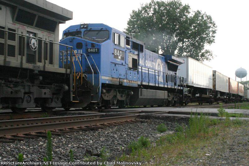 NS 8401 in run 8